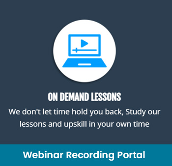 Webinar recording portal